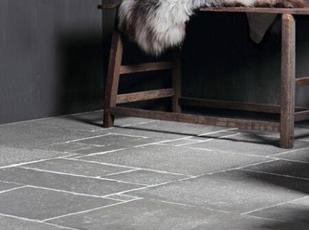 Een mooie castle stone vloer