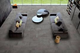 Vloertegels hal- en gang - Beton Land (Binnen)