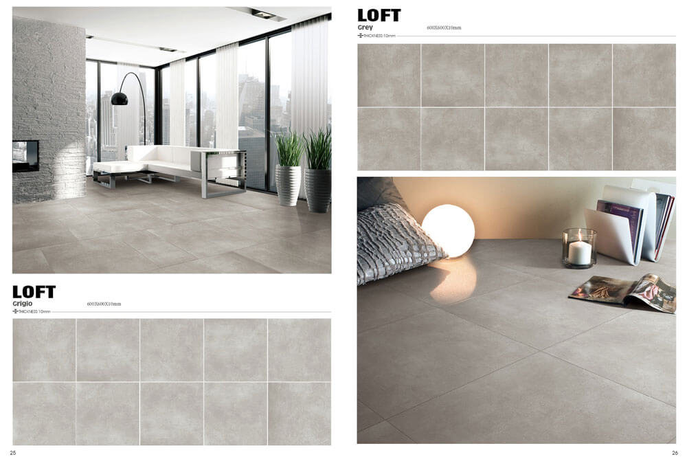 Prijstoppers - Loft Light Grigio