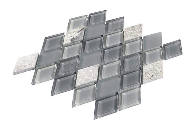 Mozaïek tegels - Jewel Grey