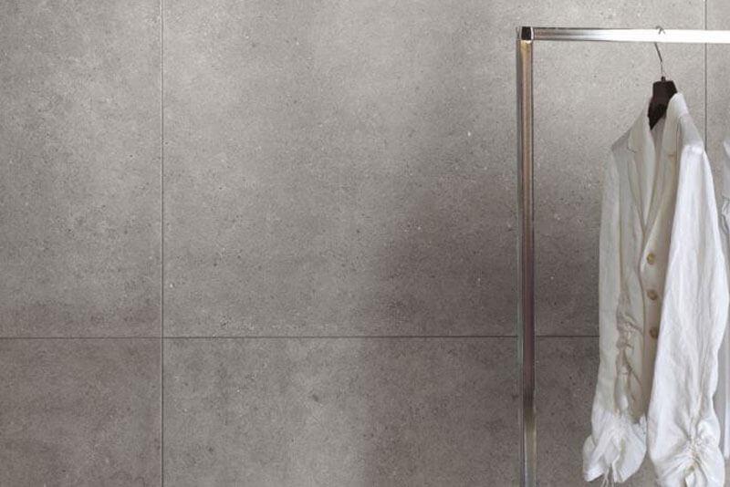 Vloertegels betonlook 100x100 cm - Square Grey In