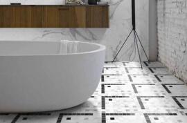 Vloertegels hal- en gang - Byron Mosaico C-York