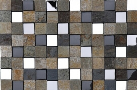 Glas Mozaiek - Sand Cube