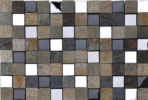 Mozaiek wandtegels - Sand Cube
