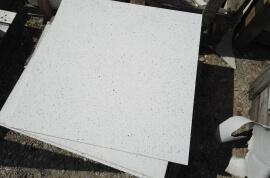 Restpartijen overige - Restpartij quartz composiet wit vloertegels 60x60x1,5
