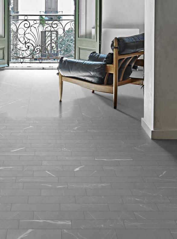 Vloertegels betonlook 30x60 cm - Blake Grigio Veined