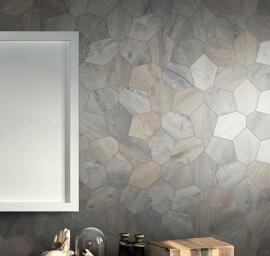 Hexagon vloertegels - Kent Grigio - Esagona