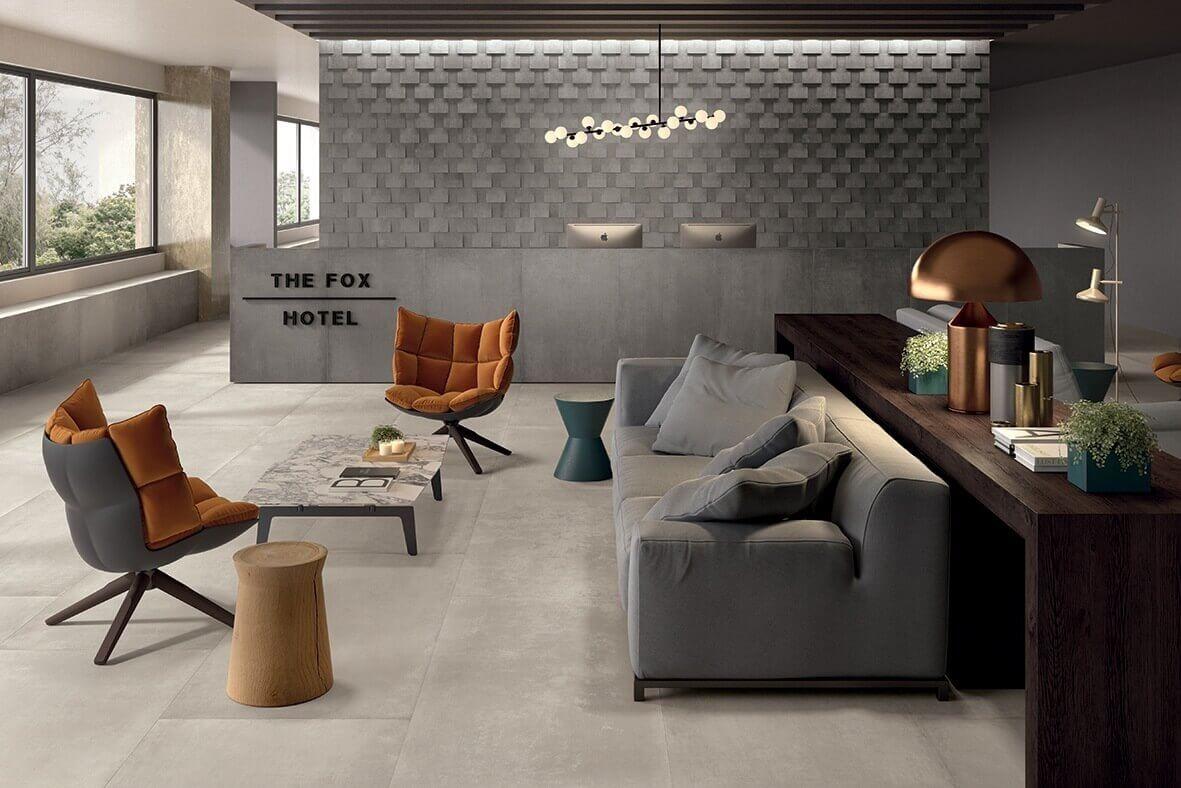 Wandtegels 30x90 - Prima Materia Cenere