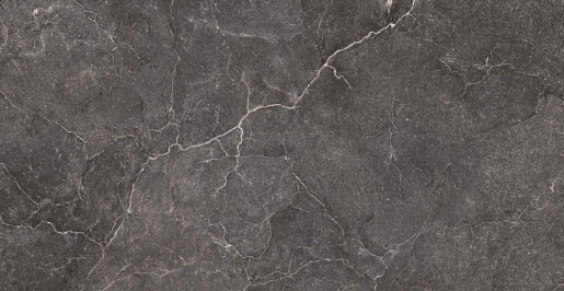 Terrastegels Travertin Look - Lithos Carbon - Bocciardata