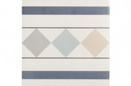 Vloertegels op kleur - Bistro 002- Randstuk 20x20