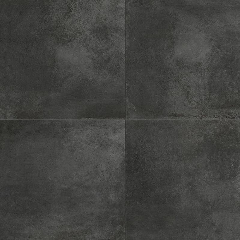 Metaal Look vloertegels - Temper Coal