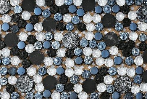 Mozaiek wandtegels - Cosmos Silver