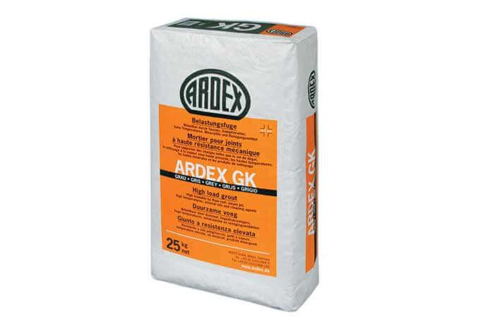 Lijm en voegmortel binnen - Ardex GK voeg - Grijs