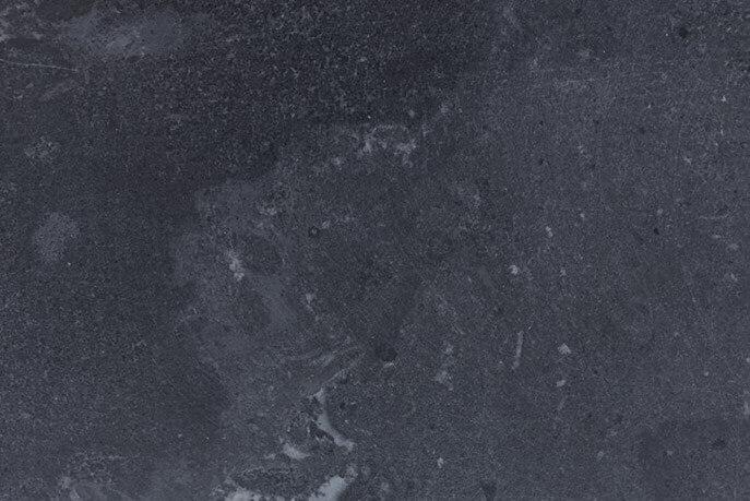 Raamdorpels - Hardsteen Blue Cloud Raamdorpel (Plat) GEZOET - 16 cm