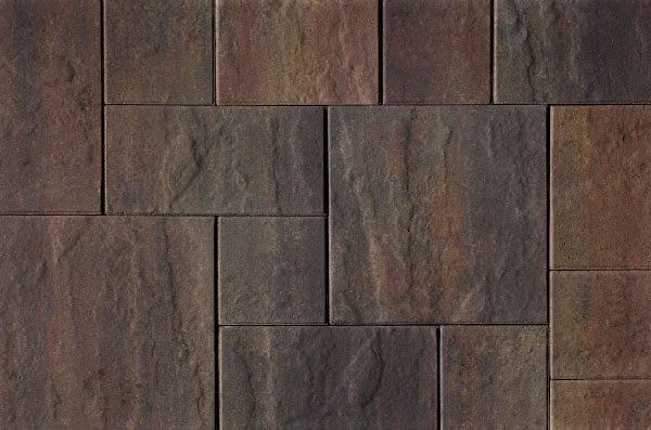 Betontegels Wildverband - H2O Mixed Wildverband Cloudy Brown Emotion - Excellent Relief