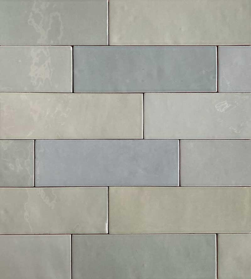 Wandtegels 6,5x33 - Safi Mint