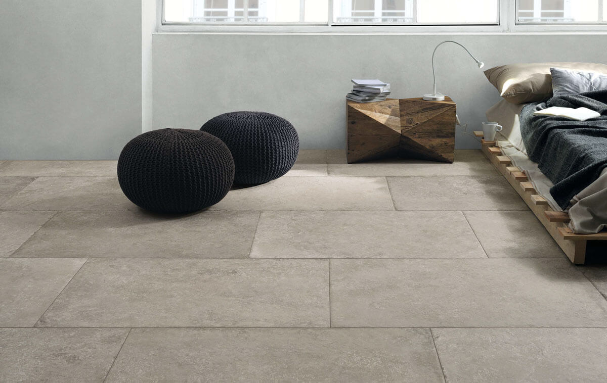 Vloertegels 60x90 - Castle Grey - Naturale