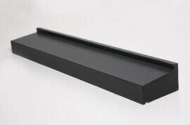 Olivian Black Basalt Raamdorpel - 15,5 cm