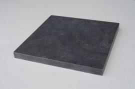 Tuinartikelen - Chinese Hardsteen Paalmuts - Plat
