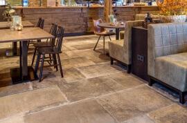 Wandtegels Kalksteen Look - Montpellier Moka - Mat (Binnen)