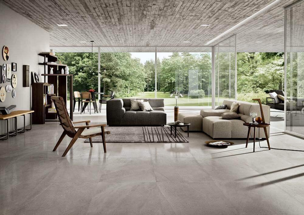 Wandtegels Hardsteen Look - Limestone Oyster