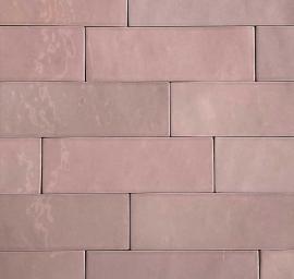 Wandtegels 7,5x30 - Safi Pink