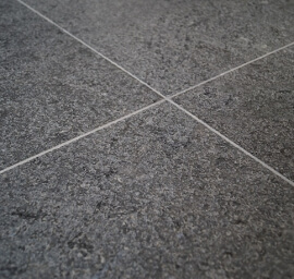 Graniet terrastegels - Royal Black Graniet - Leather Finish (Buiten)