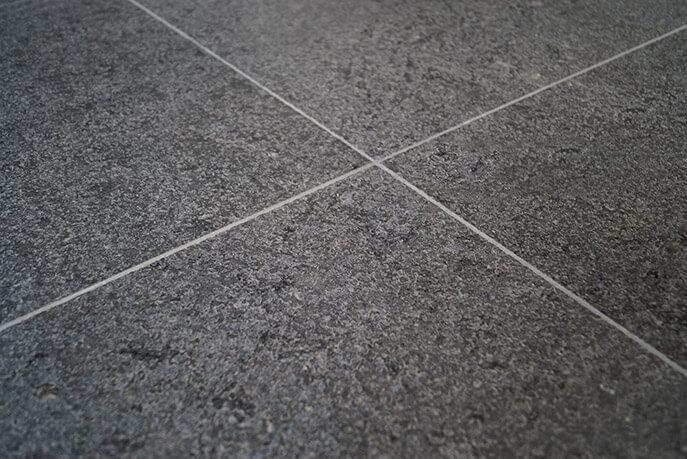 Graniet terrastegels - Royal Black Graniet - Leather Finish