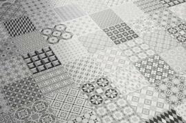 Vintage Look wandtegels - Patchwork Metrosigns