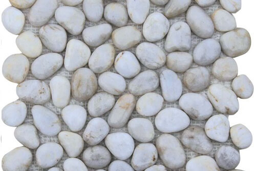 Mozaiek wandtegels - Stone White