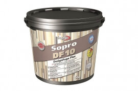 Sopro DF10® Designvoeg Flex Zwart