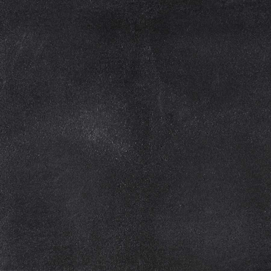 Betontegels 60x60 - Chique Zwart Smooth (met facet)