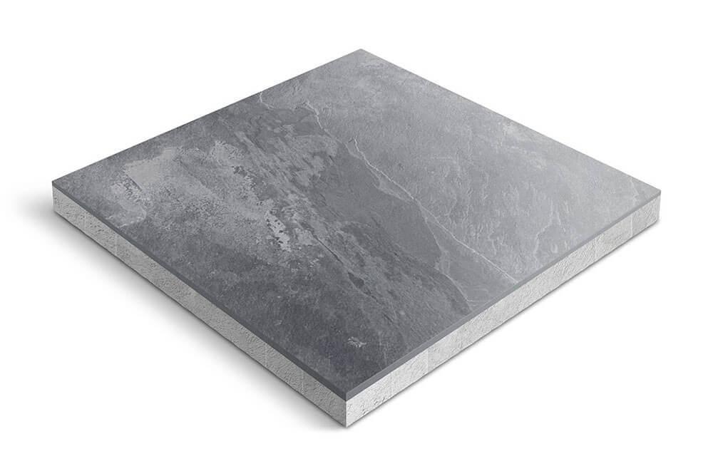 Keramiek op beton - CeraDeco Ardesia Griglo
