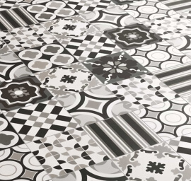 Patchwork Black & White - Mix