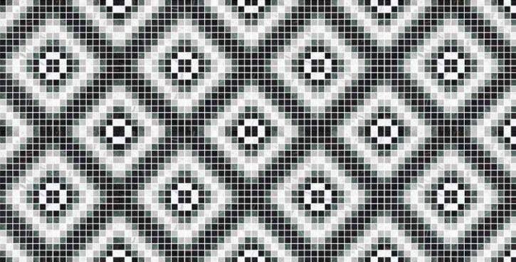 Vloertegels 30x30 - Byron Mosaico A-Dark