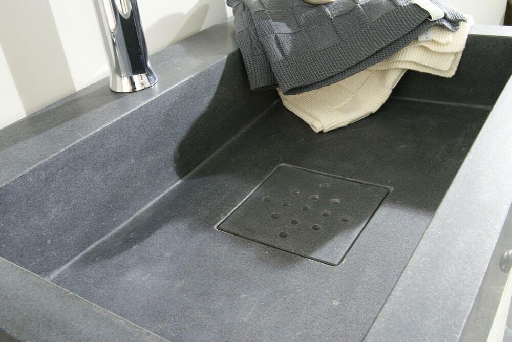 Natuursteen wastafels - Granieten Wasbak Type 2 - 60 cm