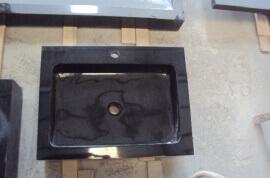 Granieten Wasbak Type 4 - 60 cm
