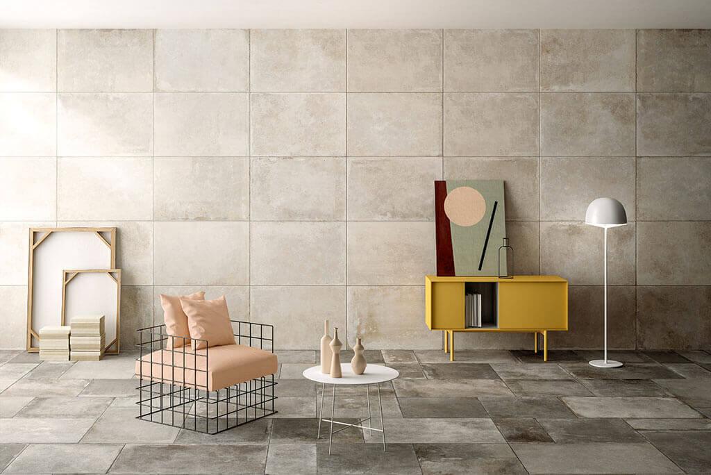 Oude vloertegels - Montpellier Talco - Mat (Binnen)