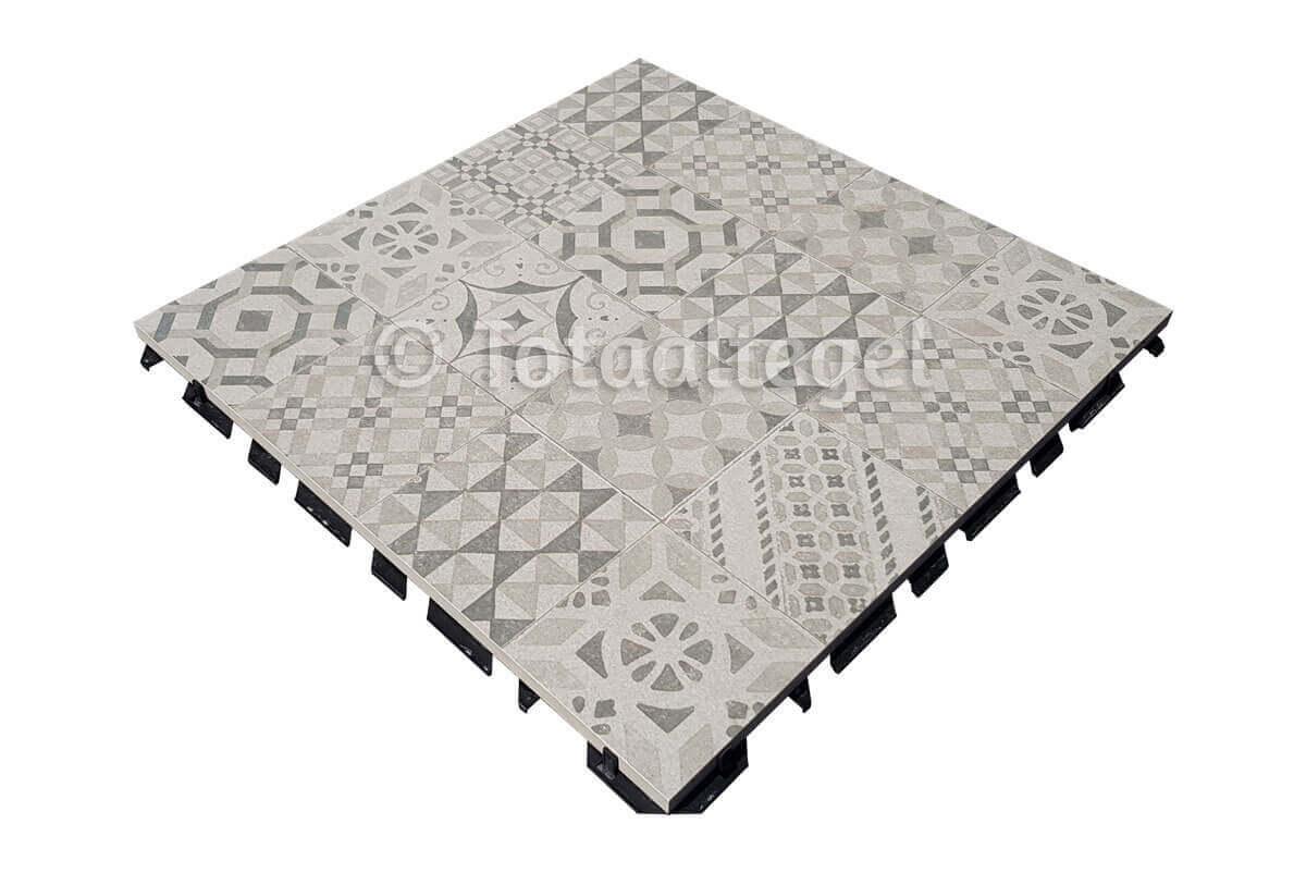 Waterdoorlatende terrastegels - X1 Decor