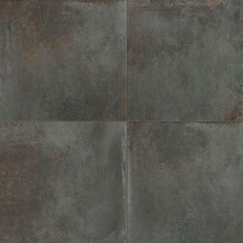 Metaal Look vloertegels - Temper Iron