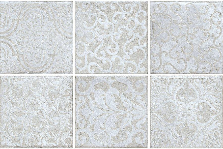 Vloertegels patroon - Majoliche Acquamarina Lenzi Mix