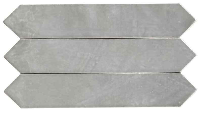 Wandtegels Metaal Look - On Grey - Glossy