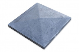 Tuinafwerking - Chinees Hardsteen Paalmuts - Diamantkop