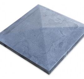 Paalmutsen - Chinees Hardsteen Paalmuts - Diamantkop