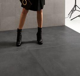 Vloertegels betonlook 30x60 cm - Tr3nd Concrete Black