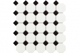 Wandtegels 30x30 - Octogon White Matt