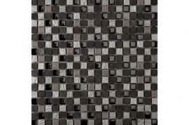 Mozaïek wandtegels - Dubai Silver Black