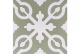 Portugese cementtegels wand - Olive Roermond