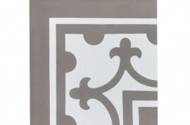 Grijze wandtegels - Den Bosch - Hoekstuk
