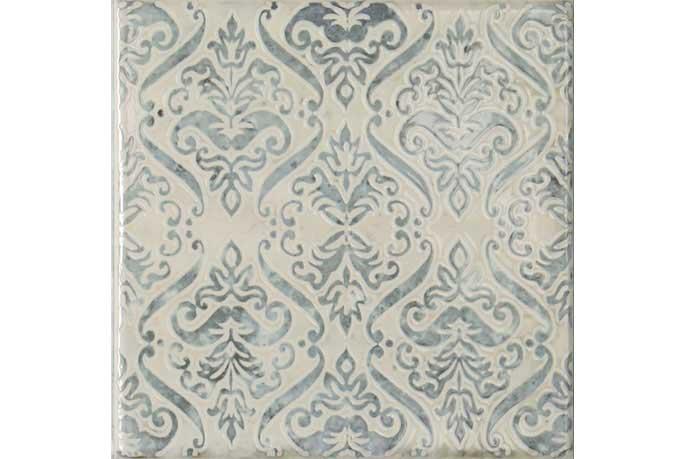 Portugese keramische wandtegels - Hidra Jacquard Azul 20x20